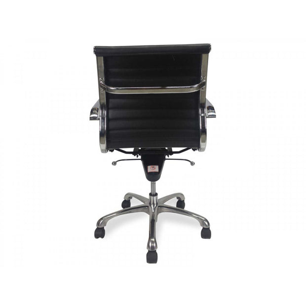 Leather Office Chair - Black