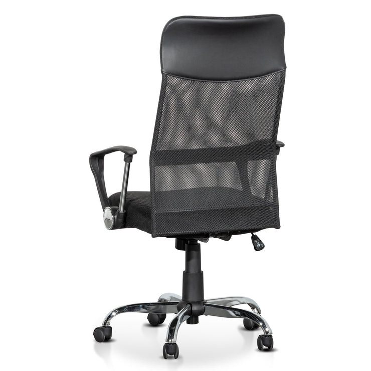 High Back Mesh Office Chair - Black