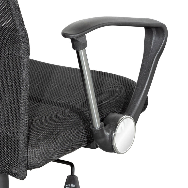 COC6236-UN High Back Mesh Office Chair - Black