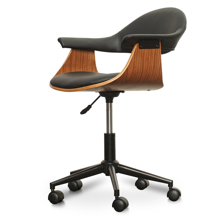 Office Chair - Black PU