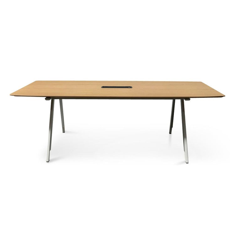 COT2499-SN Boardroom Meeting Table - Natural