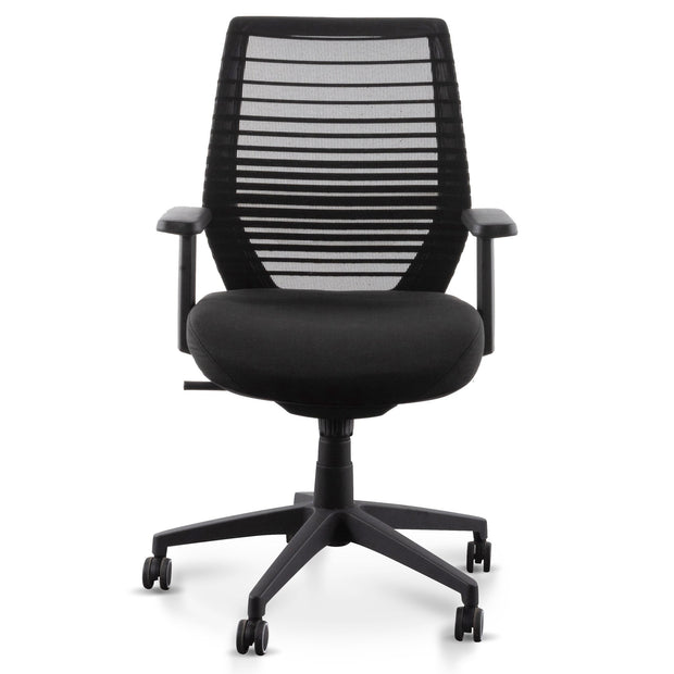 COC6209-LF Office Chair - Full Black