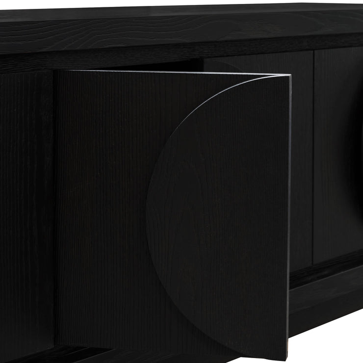 CTV2901-VA 2m Entertainment TV Unit - Textured Ebony Black