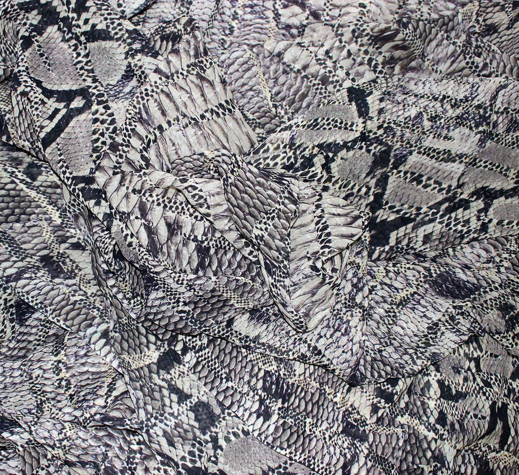 Animal print georgette fabric | Digital printed - Dtex Prints
