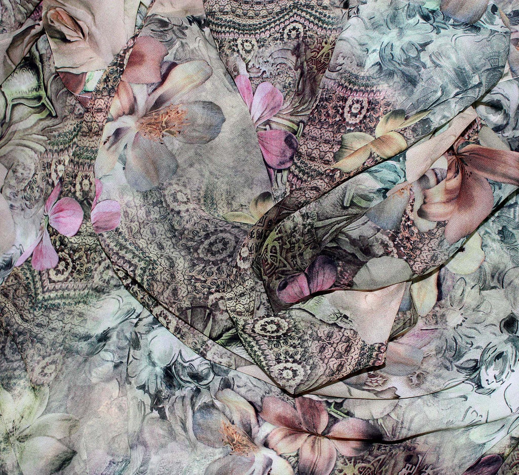 Digital printed fabric - Dtex Prints