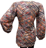 Woman's Top - knitted - Dtex Prints