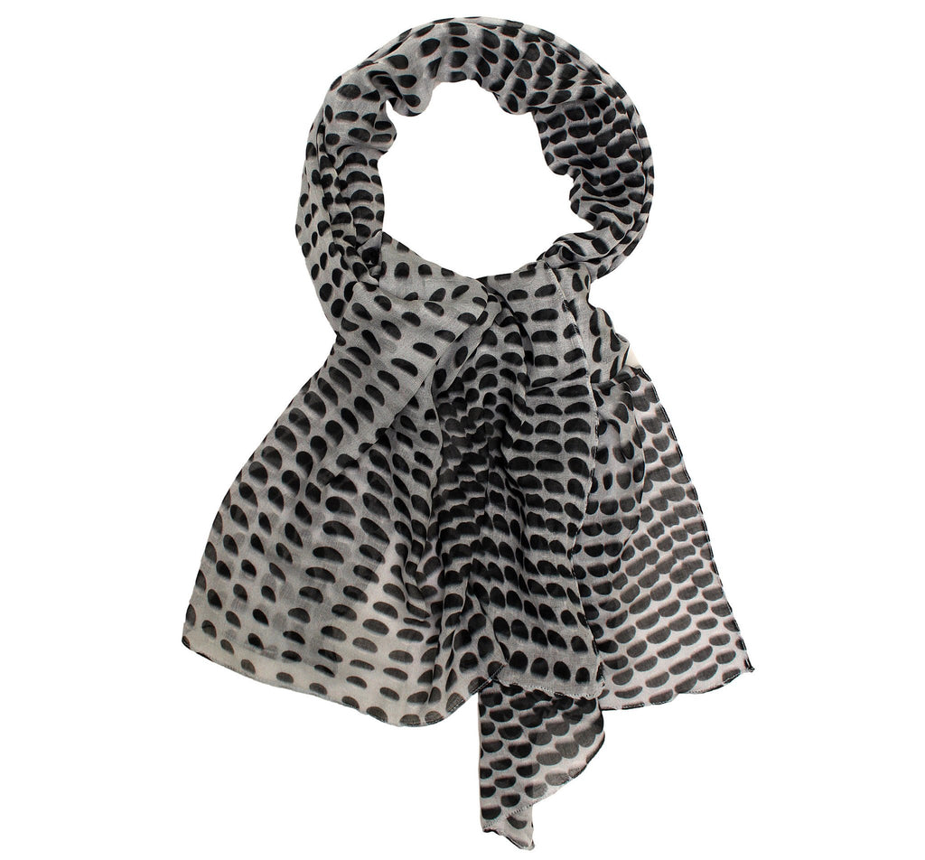 polka dotted scarf - Dtex Prints