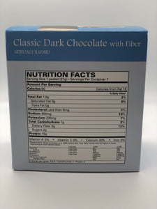 The SKINNY BEACH Diet Chocolate Shake Pack