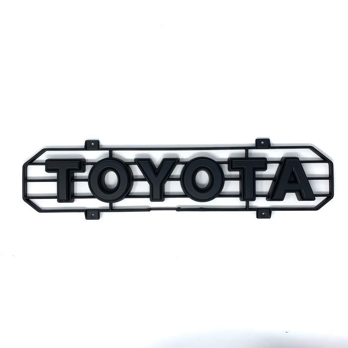 Tacoma TRD Pro Grille Lettering