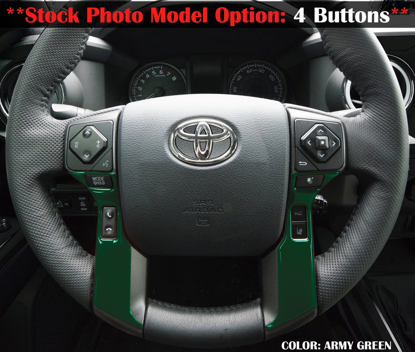 Tufskinz Steering Wheel Trim (2016-2020)