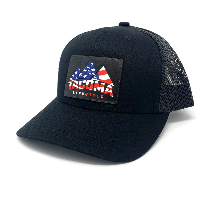 Tacoma Lifestyle American Flag Hat