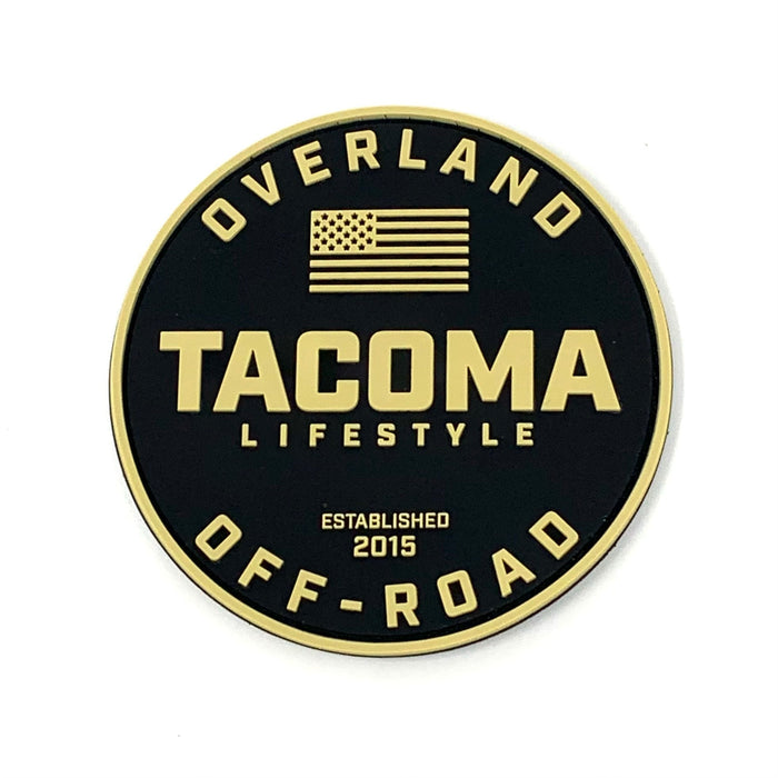 Tacoma Lifestyle Overland Patch