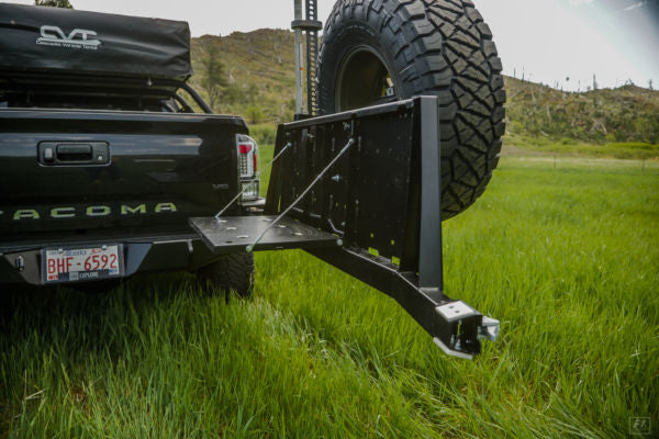 C4 Fabrication Overland Series High Clearance Rear Bumper (2016-2021)
