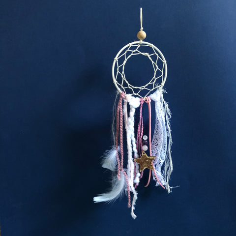 DIY Dreamcatcher Kit | Rose Pink