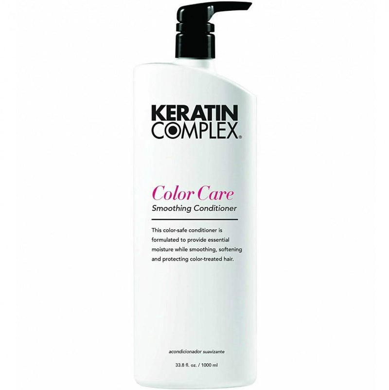 Smoothing Therapy Keratin Color Care Conditioner 1 L/ 33.8 fl. oz. - Lustrous Shine - Keratin Complex