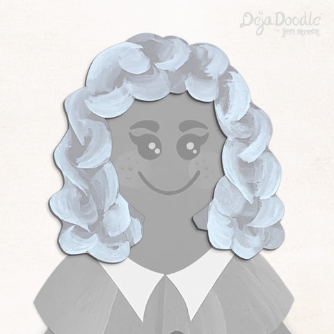 Curls Just Wanna Have Fun Hairstyle - Happily Ever After Grey