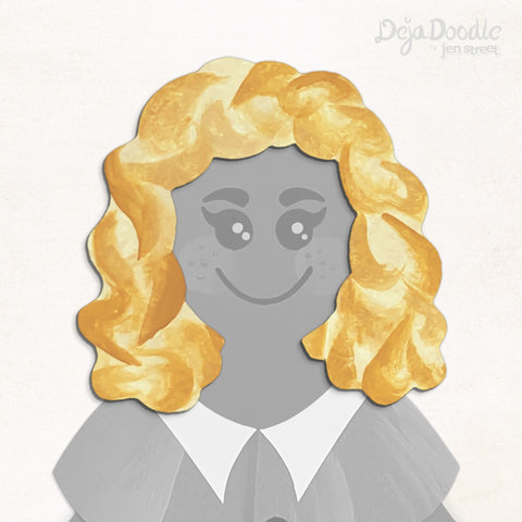 Curls Just Wanna Have Fun Hairstyle - Tangled Up in Blonde