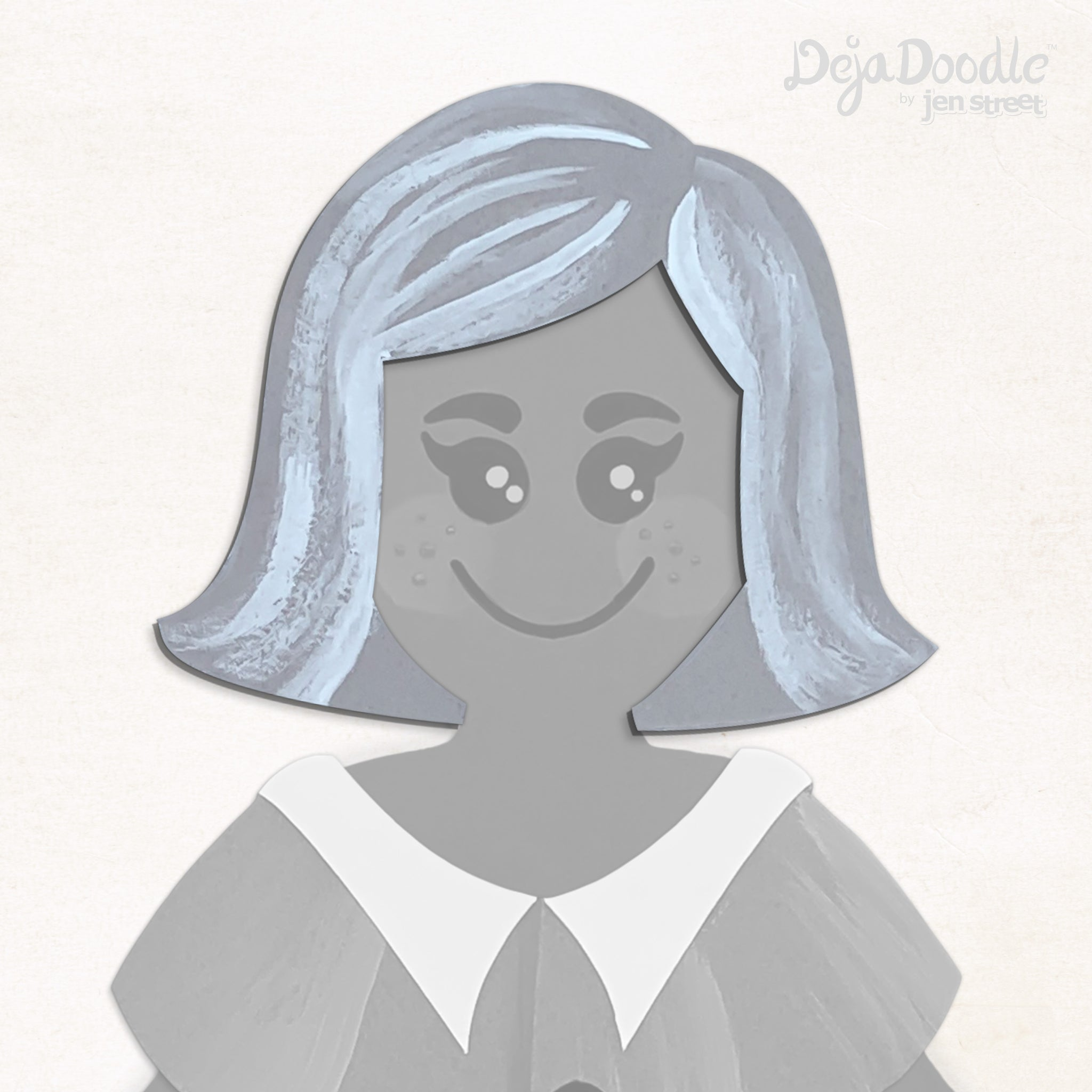 On the Flip Side Hairstyle - Happily Ever After Grey