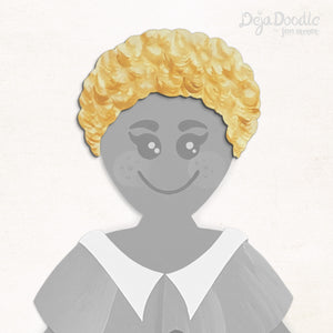 Rockin' Ringlets Hairstyle - Tangled Up in Blonde