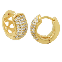 Bella Hoop Small Earrings Bella Joias Jewelry Miami