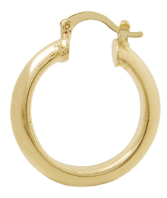 Load image into Gallery viewer, Gold Classic Hoop Earrings Bella Joias Jewelry Miami