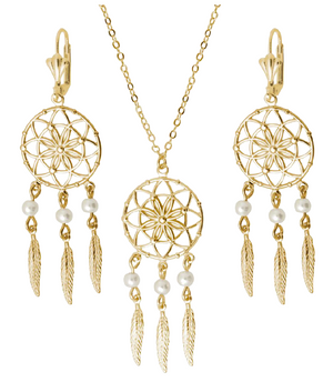 Load image into Gallery viewer, Dream Catcher Set Bella Joias Jewelry Miami