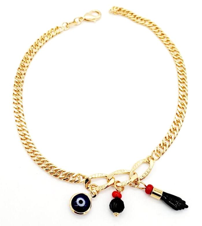 Mystic Anklet 18K Gold Layered