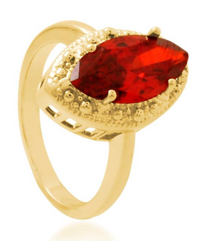 Royal Ruby Ring Bella Joias Jewelry Miami