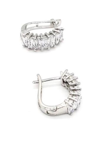 Load image into Gallery viewer, Small Zirconia Earrings