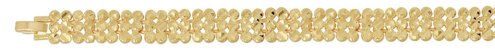 Triple Dots Bracelet 18K Gold Filled