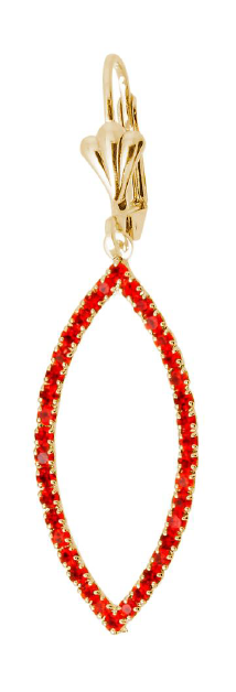 Red Tropical Drop Bella Joias Jewelry Miami