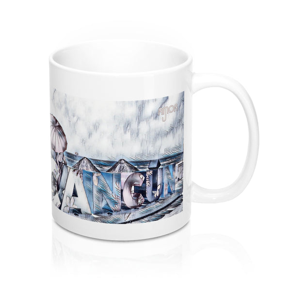 Cancun  - Personalizable & Customizable Mug 11oz