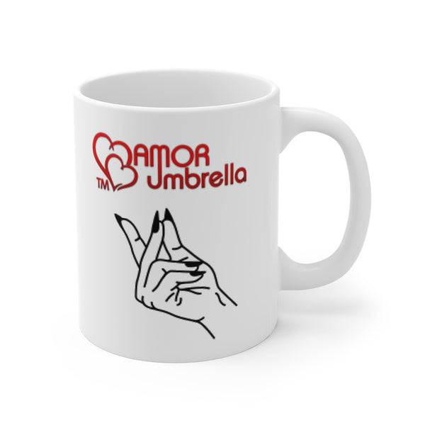 Snap Amor Umbrella - Personalizable & Customizable Mug 11oz