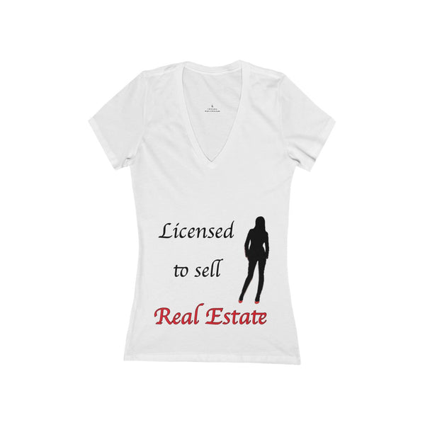 T-shirt - Licensed to sell Real Estate (Woman Tee)