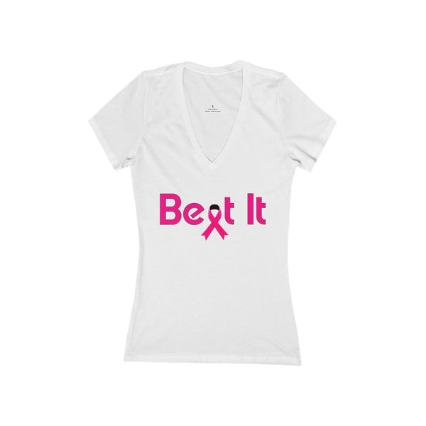 Beat It - Breast Cancer Awareness T-shirt  -Customized and Personalizable