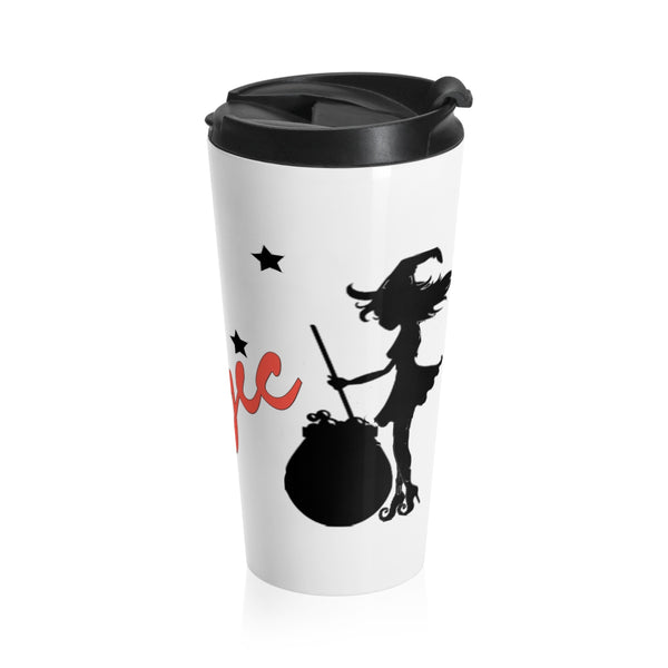 Create your own Magic Stainless Steel Travel Mug 15OZ Personalized & Customized Photo, Text and Logo