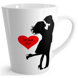 Custom  Latte mug 12oz- love you and I love you too