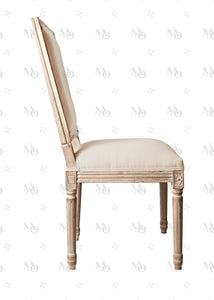 Silla French XV - Lino Gris