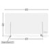 "DeskShield 47"" by EZGARD 