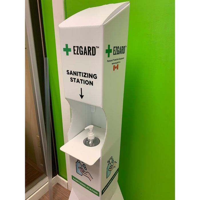 Sanitizing Station by EZGARD | Free Standing and easy to relocate