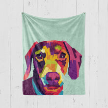 Load image into Gallery viewer, POP STYLE Pet Art Blanket, Upload Your Photos, We Design a Custom Blanket!