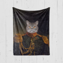 Load image into Gallery viewer, ROYAL STYLE Pet Art Blanket, Upload Your Photos, We Design a Custom Blanket!