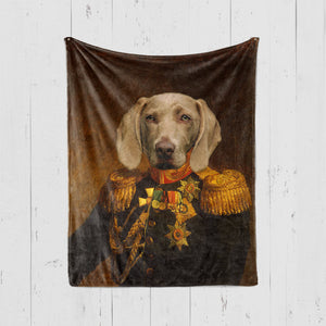ROYAL STYLE Pet Art Blanket, Upload Your Photos, We Design a Custom Blanket!