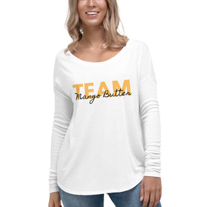 Team Mango Butter Long Sleeve Tee - B.Y.O.Skin Bar