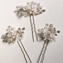 Load image into Gallery viewer, Pansy Hair Pins