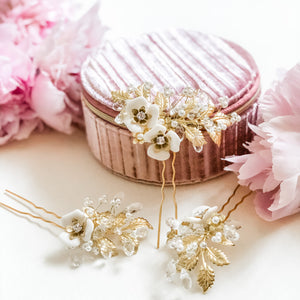 Charlotte Guilded Hair Pins