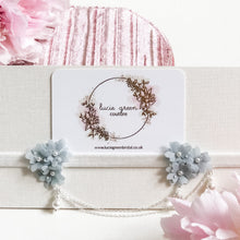 Load image into Gallery viewer, Forget Me Not Bridal Garter