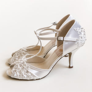 Blousy Bridal Shoes