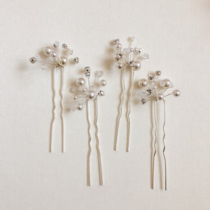 Crystal Hair pins