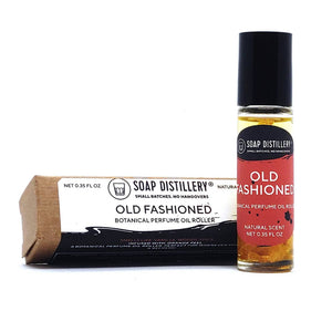 Old Fashioned Botanical Perfume Roller by Soap Distillery